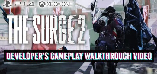 The Surge, The Surge 2, PS4, XONE, PlayStation 4, Xbox One, US, Europe, update, Focus Home Interactive