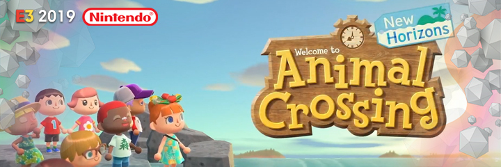 nintendo switch, e3 2019, animal crossing