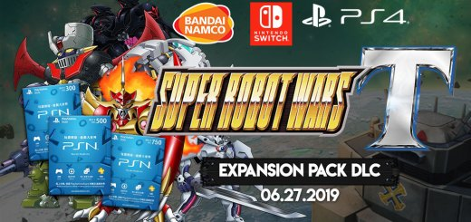 Super Robot Wars T, Nintendo Switch, Asia, PlayStation 4, Switch, DLC, Expansion Pack, update, patch, release date, English, Bandai Namco, price, news