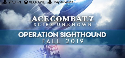 Ace Combat 7: Skies Unknown, Bandai Namco, PlayStation 4, PlayStation VR, Xbox One, PS4, PSVR, XONE, US, Europe, Australia, Japan, Asia, OPERATION SIGHTHOUND, DLC PACK
