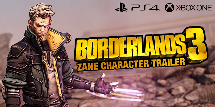 Borderlands 3: Introduces Zane Flynt in the Latest Trailer
