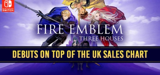 Fire Emblem: Three Houses, Nintendo, US, North America, Europe, PAL, Australia, Asia, Japan, game, release date, Nintendo Switch, Switch, news, update, sales, UK sales chart