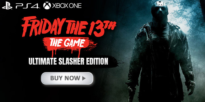 Friday The 13th, Friday The 13th: The Game, Friday The 13th: The Game [Ultimate Slasher Edition], Ultimate Edition, Switch, US, Japan, Nintendo Switch, Pre-order, Nighthawk Interactive