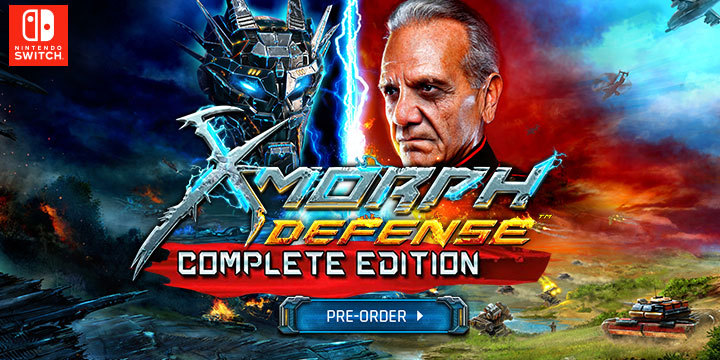 X-Morph Defense, X-Morph Defense Complete Edition, Nintendo Switch, Switch, Europe, release date, features, pre-order, EXOR Studios, trailer, X-Morph: Defense Complete Edition