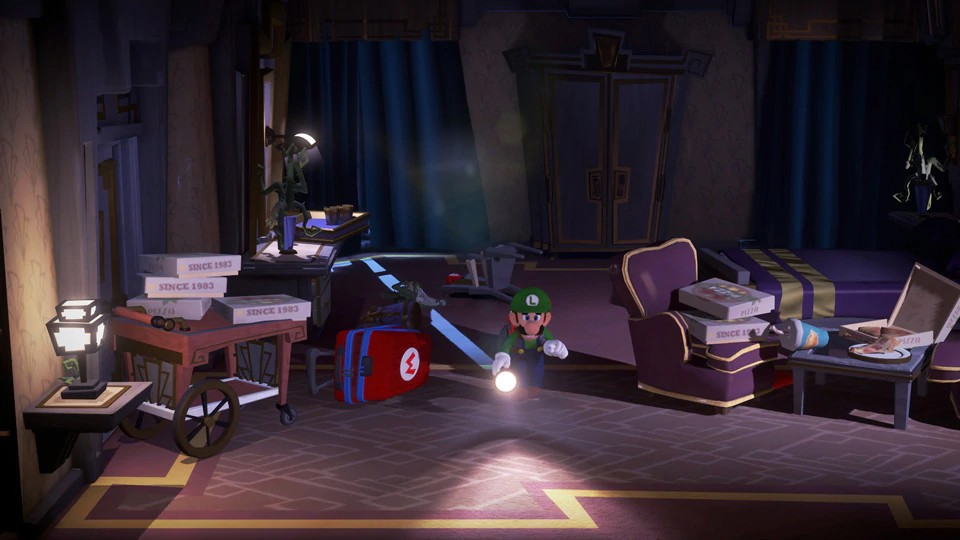 Luigi S Mansion 3 Heads To Nintendo Switch This October