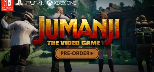 Jumanji: The video game, Nintendo switch, switch, PS4, Playstation 4, Xbox one, XB1, US, North America, EU, Europe, AU, Australia, release date, gameplay, features, price, pre-order, bandai namco, outright games, funsolve, jumanji