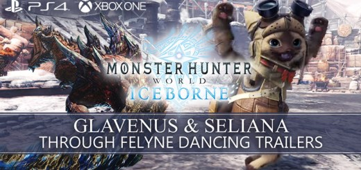 Monster Hunter World: Iceborne Master Edition, Monster Hunter World, Master Edition, PlayStation 4, Xbox One, North America, US, Japan, update, Glavenus, Seliana through Felyne Dancing