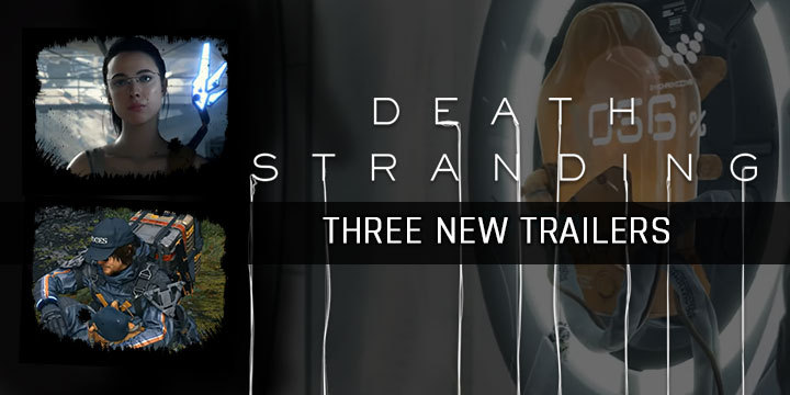Death Stranding, PlayStation 4, North America, US, Europe, Japan, Asia, game, news, update, release date, new trailer, gamescom 2019