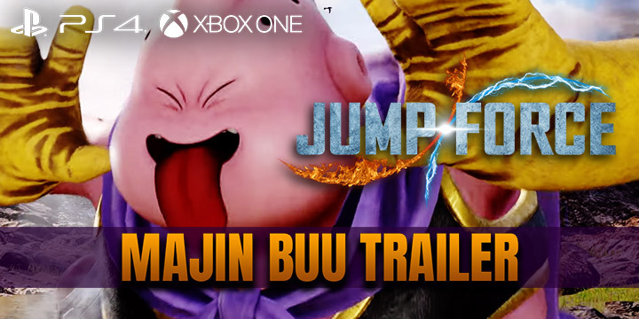 Jump Force, PlayStation 4, Xbox One, gameplay, price, features, US, North America, Europe, update, news, new trailer, Majin Buu, Majin Buu trailer, DLC, DLC character