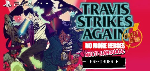 Travis Strikes Again: No More Heroes Complete Edition, Travis Strikes Again No More Heroes, PS4, PlayStation 4, Multi-language, English, Complete Edition, physical release, release date, gameplay, features, price, pre-order, Asia, Marvelous