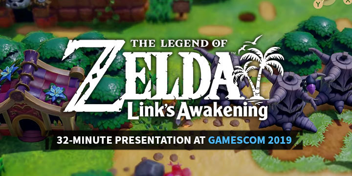 The Legend of Zelda: Link's Awakening at Gamescom 2019 - NEW
