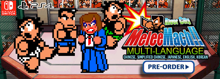 River City Melee Mach, River City Melee Mach!! switch, nintendo switch, ps4, playstation 4, Asia, release date, gameplay, features, price, pre-order, arc system works, multi-language, chinese, korean, english, japanese