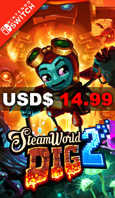 STEAMWORLD DIG 2 Rising Star