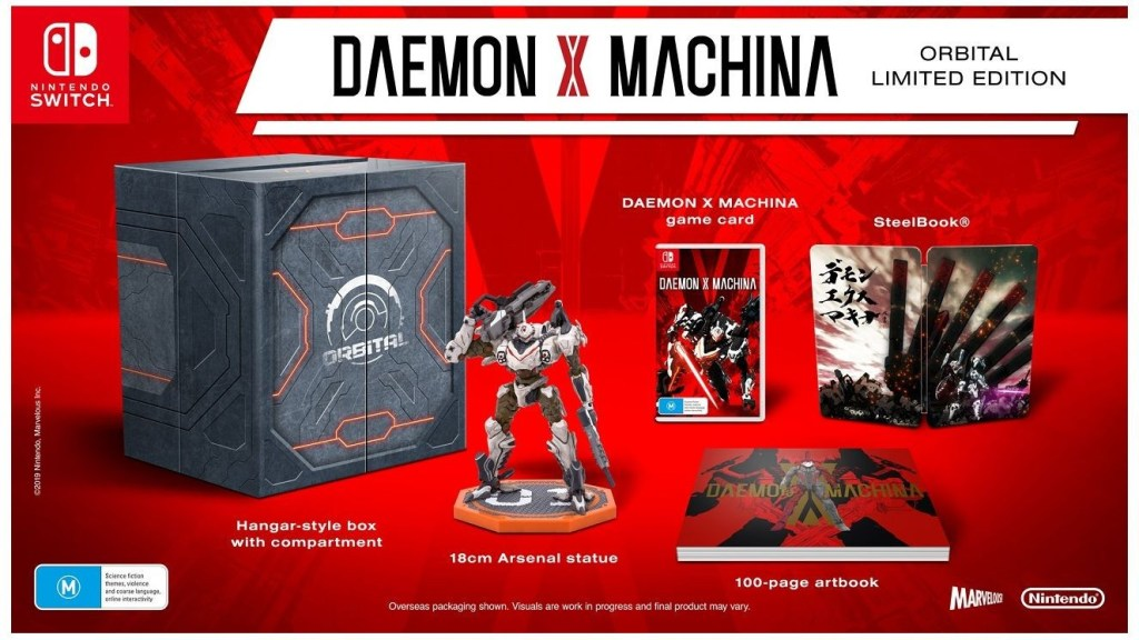 Daemon X Machina Introduced Game Characters and Factions