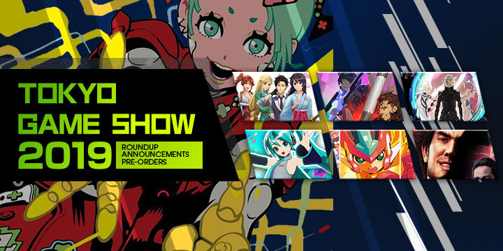 tgs 2019, tokyo game show 2019