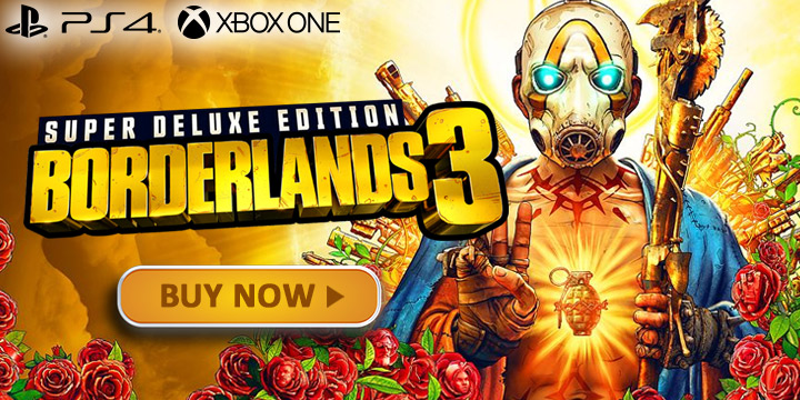 Borderlands 3, Borderlands, PS4, XONE, PlayStation 4, Xbox One, US, Europe, Australia, Japan, Asia, Chinese Subs, 2K Games, update, Bloody Harvest