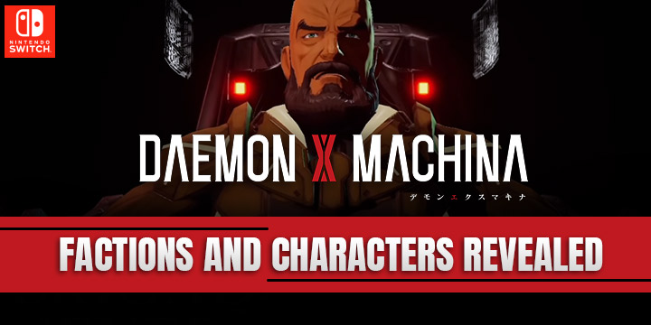 daemon x machina, nintendo switch, switch,us,north america Au, australia, Asia, eu, europe, japan, asia, release date, gameplay, features, price, pre-order,nintendo, marvelous first studio, new trailer, characters and factions