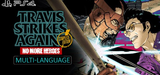 Travis Strikes Again: No More Heroes, PlayStation 4, PS4, Marvelous, Pre-order, Multi-language, Travis Strikes Again: No More Heroes [Complete Edition], English, Chinese, Complete Edition
