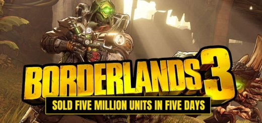 Borderlands 3, Borderlands, PS4, XONE, PlayStation 4, Xbox One, US, Europe, Australia, Japan, Asia, Chinese Subs, 2K Games, update, milestone, sales