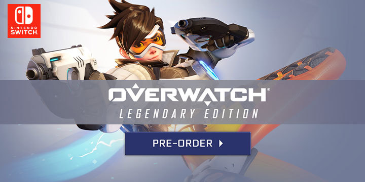 Overwatch, Overwatch: Legendary Edition, Nintendo Switch, Switch, US, Asia, Multi-language, Pre-order, Blizzard