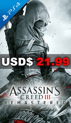 ASSASSIN'S CREED III REMASTERED Ubisoft