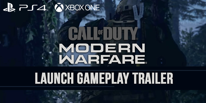 call of duty: modern warfare, xone, xbox one, ps4, playstation 4, north america, us, eu, europe, pre-order, gameplay, features, price, activision, infinity ward, new trailer, launch gameplay trailer, call of duty game