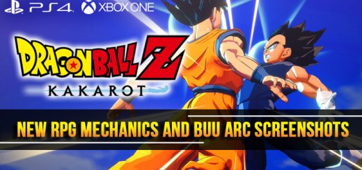 dragon ball z game, dragon ball z: kakarot, ps4, playstation 4 , xone, xbox one, north america,us, europe, japan, asia, australia, release date, gameplay, features, price, pre-order now, new screenshots, new RPG mechanics