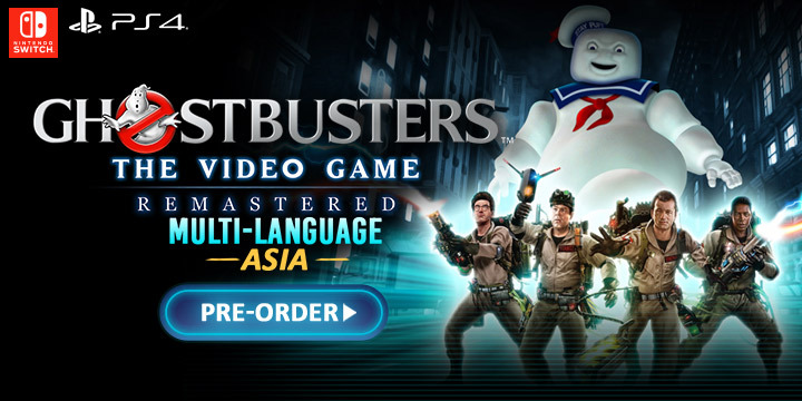 Ghostbusters: The Video Game Remastered (Multi-Language), ps4, playstation 4, switch, nintendo switch, asia, release date, ameplay, features, price, H2 Interactive, saber interactive, mad dog