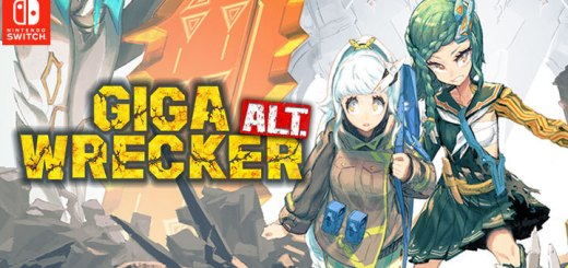 Giga Wrecker Alt., Giga Wrecker, Nintendo Switch, Switch, Japan, Pre-order