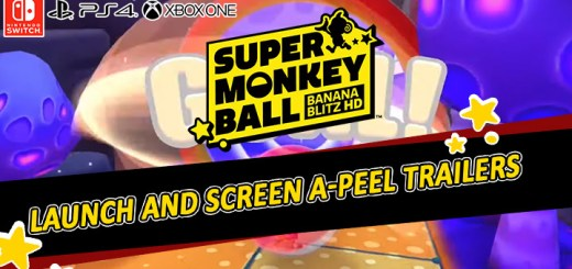 super monkey ball: banana blitz hd, d, ps4, playstation 4 , xone, xbox one, switch, nintendo switch, north america,us, europe, australia, japan, asia , release date, gameplay, features, price, buy now, launch trailer, screen a-peel trailer