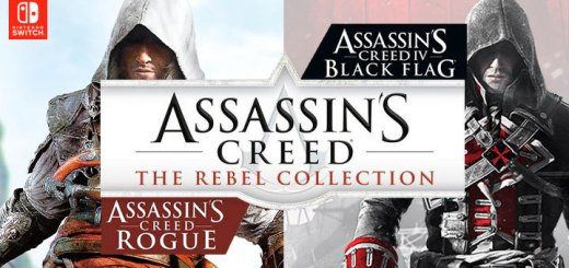 Assassin's Creed: The Rebel Collection, Assassin's Creed, Switch, Nintendo Switch, Pre-order, Ubisoft, Assassin's Creed IV Black Flag, Assassin's Creed Rogue