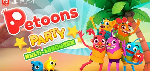Petoons Party, Petoons Party (Multi-Language), Multi-language, PS4, Switch, PlayStation 4, Nintendo Switch, Japan, ペトゥーンパーティー