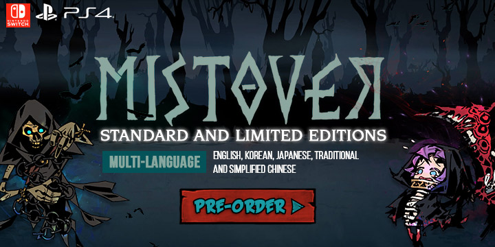 mistover,multi-language, asia, krafton inc, release date, gameplay, features, price,pre-order now, ps4, playstation 4, switch, nintendo switch, MISTOVER, physical, standard edition, limited edition