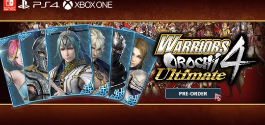 warriors orochi 4 ultimate, musuo orochi 3 ultimate, ps4, playstation 4, xbox one, xone, switch, nintendo switch ,asia,japan, us, north america, europe release date, gameplay, features, price, pre-order now