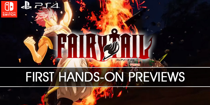 Fairy Tail, PS4, Switch, PlayStation 4, Nintendo Switch, release date, features, price, pre-order, US, North America, news, update, gameplay, first hands-on preview