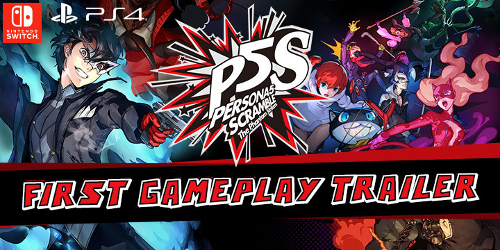 Persona 5 Scramble: The Phantom Strikers, release date, announced, PS4, Switch, PlayStation 4, Nintendo Switch, Japan, Atlus, Koei Tecmo, trailer, first gameplay trailer, gameplay trailer, news, update, Persona 5, Persona 5 Scramble