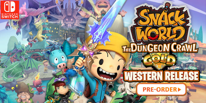 February Games With Gold 2020.Snack World The Dungeon Crawl Gold Western Release Coming