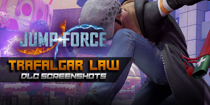 Jump Force, PlayStation 4, Xbox One, US, Europe, Asia, Japan, DLC, update, One Piece, Traflagar Law