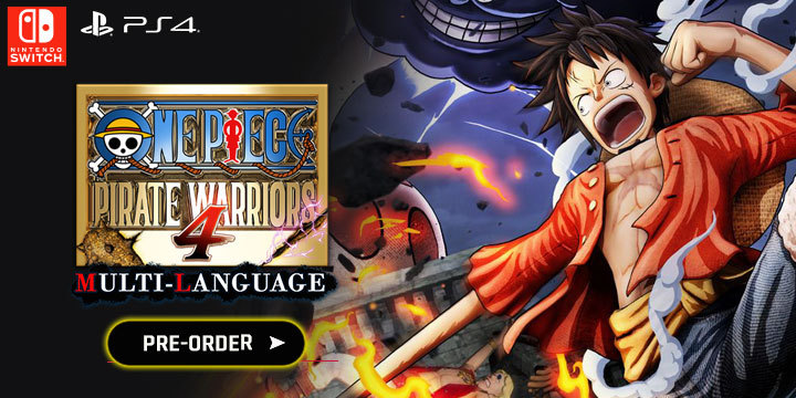 Pirate Games 2020.One Piece Pirate Warriors 4 Multi Language Coming In March 2020