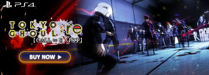 Tokyo Ghoul: re Call to Exist, ps4, playstation 4 ,asia,japan,australia, us, north america, europe release date, gameplay, features, price, buy now, launch trailer
