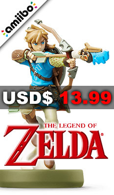 amiibo The Legend of Zelda: Breath of the Wild Series Figure (Link: Archer), Nintendo