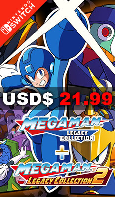 Mega Man Legacy Collection + Mega Man Legacy Collection 2, Capcom
