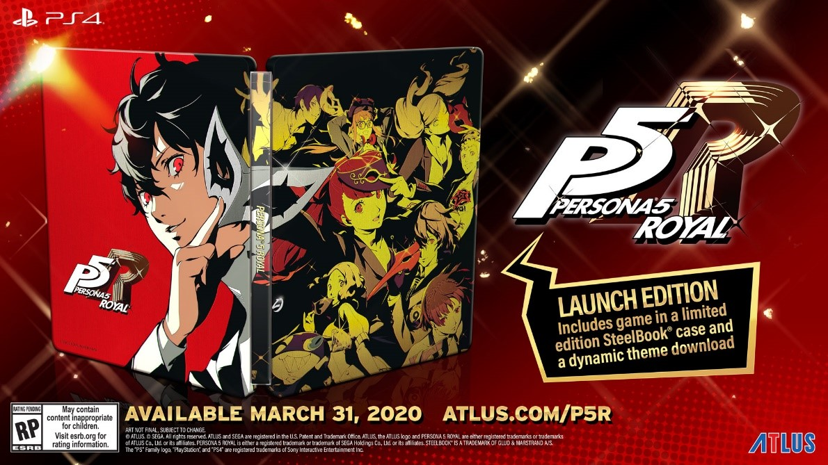 Persona 5 Royal, Persona 5: The Royal, PS4, PlayStation 4, trailer, English, release date, announced, Atlus, update, news, North America, US