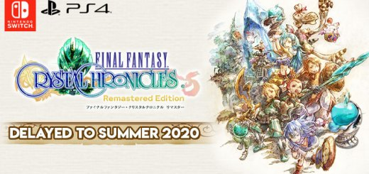 final fantasy crystal chronicles, final fantasy crystal chronicles remastered edition, japan, Square enix, release date, gameplay, features, price,pre-order now, ps4, playstation 4,switch, nintendo switch, delayed to summer 2020