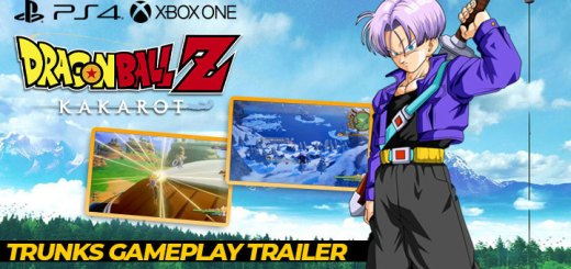 dragon ball z: Kakarot,europe, north america, us, australia, japan, asia, bandai namco, cyberconnect2, release date, gameplay, features, price,pre-order now, ps4, playstation 4, xone, xbox one, new video, new trailer, trunks, new gameplay trailer, trunks gameplay