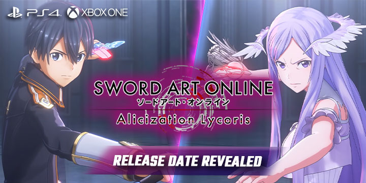 sword art online, sword art online: alicization Lycoris, japan,bandai namco, release date, gameplay, features, price,pre-order now, ps4, playstation 4,xbox one, release date