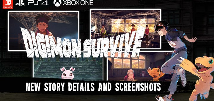 digimon survive, bandai namco entertainment, witchcraft, us, north america, release date, gameplay, features, price,pre-order now, ps4, playstation 4,switch, nintendo switch, xone, box one, new story details, game system