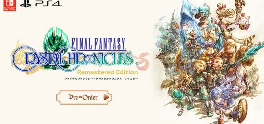 final fantasy remastered, final fantasy crystal chronicles remastered edition,switch, nintendo switch, ps4, playstation 4,japan, release date, gameplay, features, price, pre-order now, square enix