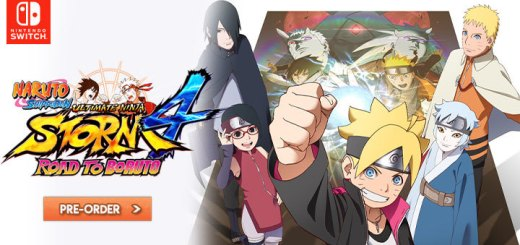 Naruto Shippuden: Ultimate Ninja Storm 4 - Road to Boruto, Naruto Shippuden Ultimate Ninja Storm 4 Road to Boruto, Naruto Shippuden, Nintendo Switch, Switch, release date, gameplay, features, price, pre-order, trailer, US, North America, Europe, Japan, Bandai Namco