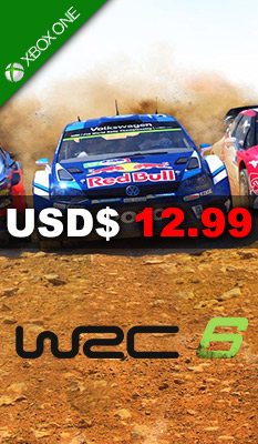 WRC 6: FIA WORLD RALLY CHAMPIONSHIP Bandai Namco Games